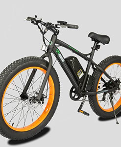 26-New-Fat-Tire-Electric-Bike-Beach-Snow-Bicycle-ebike-500W-BlackOrange-2016-electric-moped-0