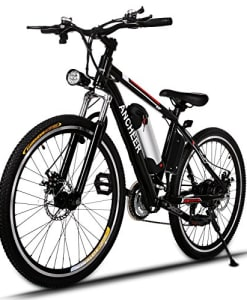 Ancheer-Power-Plus-Electric-Mountain-Bike-with-Removable-Lithium-Ion-Battery-Battery-Charger-and-Adjustable-Chrome-Handlebars-0
