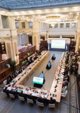 Первые после переноса штаб-квартиры МИБ в Европу заседания Совета директоров и Совета управляющих МИБ прошли в Будапеште: завершение релокации, увеличение капитала, новые кадровые назначения