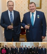 Chairman of the IIB Board receives the Order of Friendship at the Ministry of Foreign Affairs of the Russian Federation