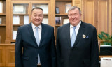 IIB continues to be active in Mongolia: Chairperson of the Management Board Nikolay Kosov and the Ambassador of Mongolia to the Russian Federation D. Davaa discuss priority areas of the Bank's operations