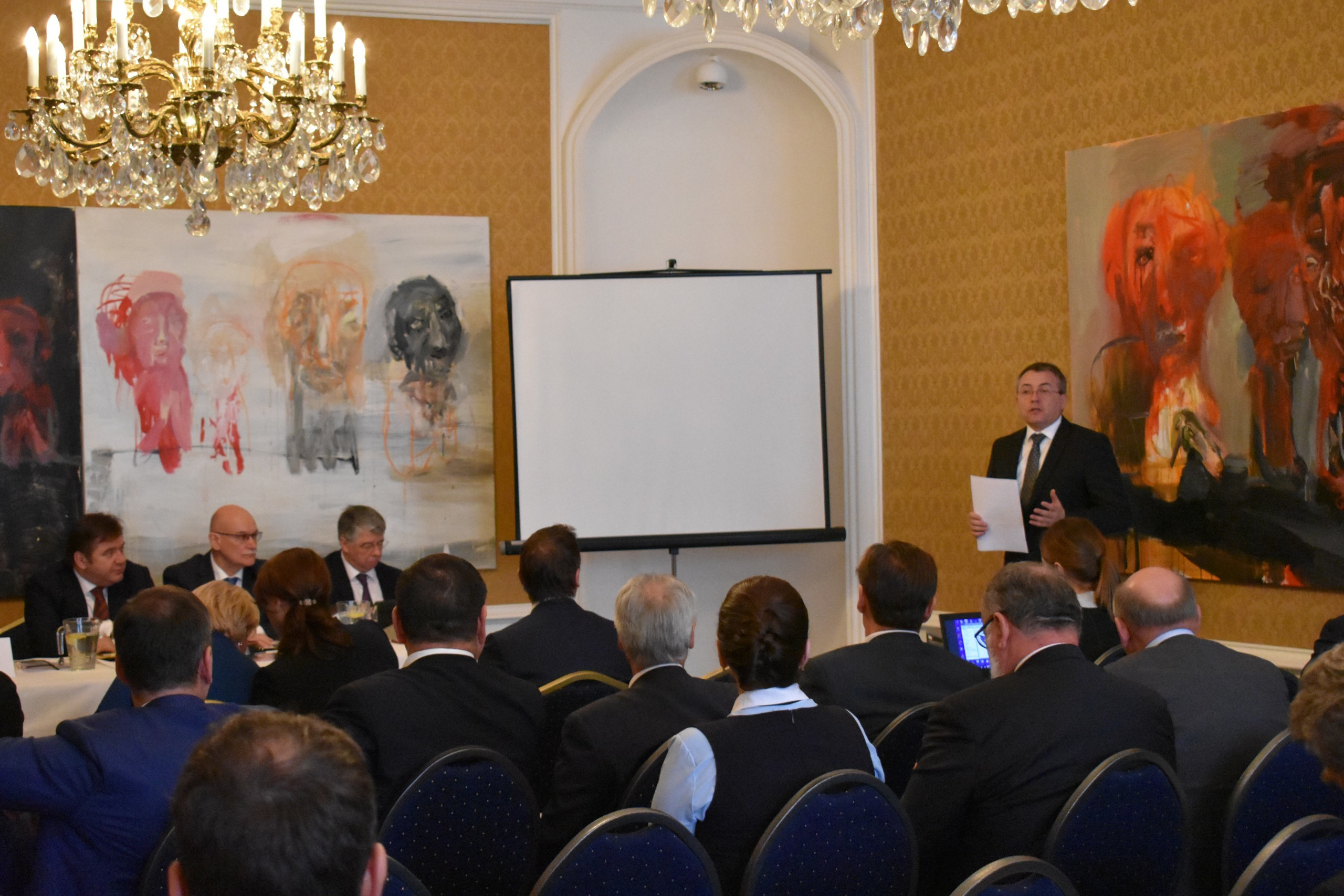 IIB delegation discussed opportunities for economic integration at joint session of business councils of Slovakia and Russia