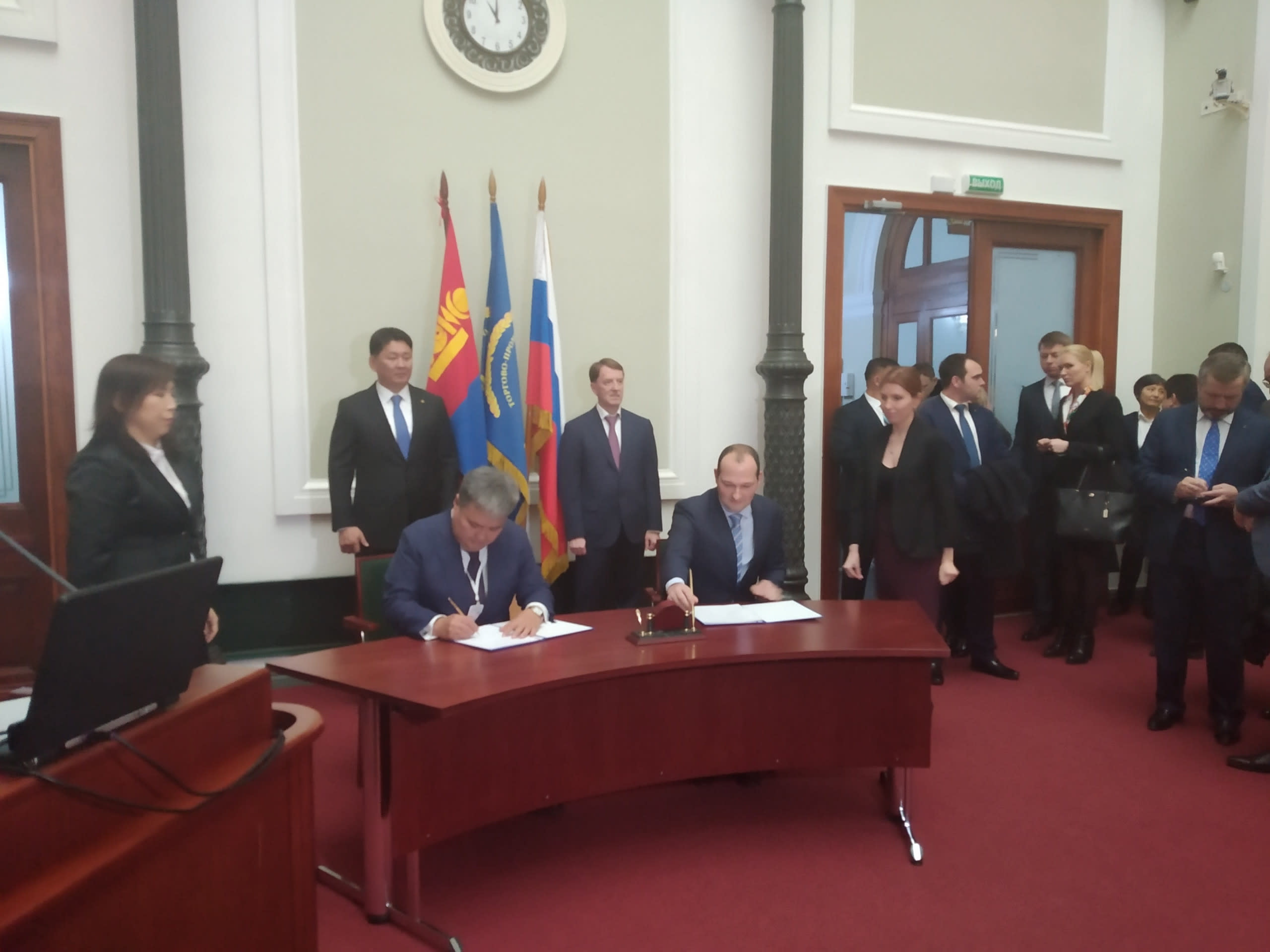 IIB develops partnerships in Mongolia: Bank representatives signed an important bilateral agreement on the sidelines of the Russian-Mongolian Business Forum