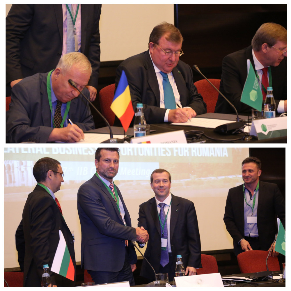 The IIB signed a number of agreements with partners from Member countries during the 107th Council Meeting