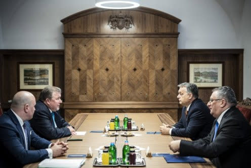 Председатель МИБ Николай Косов встретился с  Премьер-министром Венгрии Виктором Орбаном