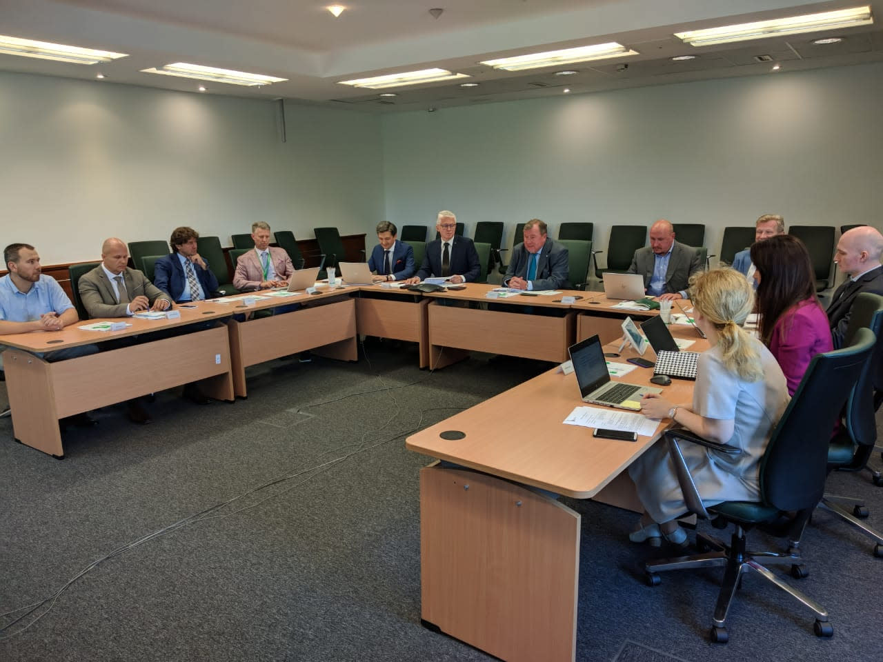 The first meeting of IIB Management Board was held in the new Budapest headquarters