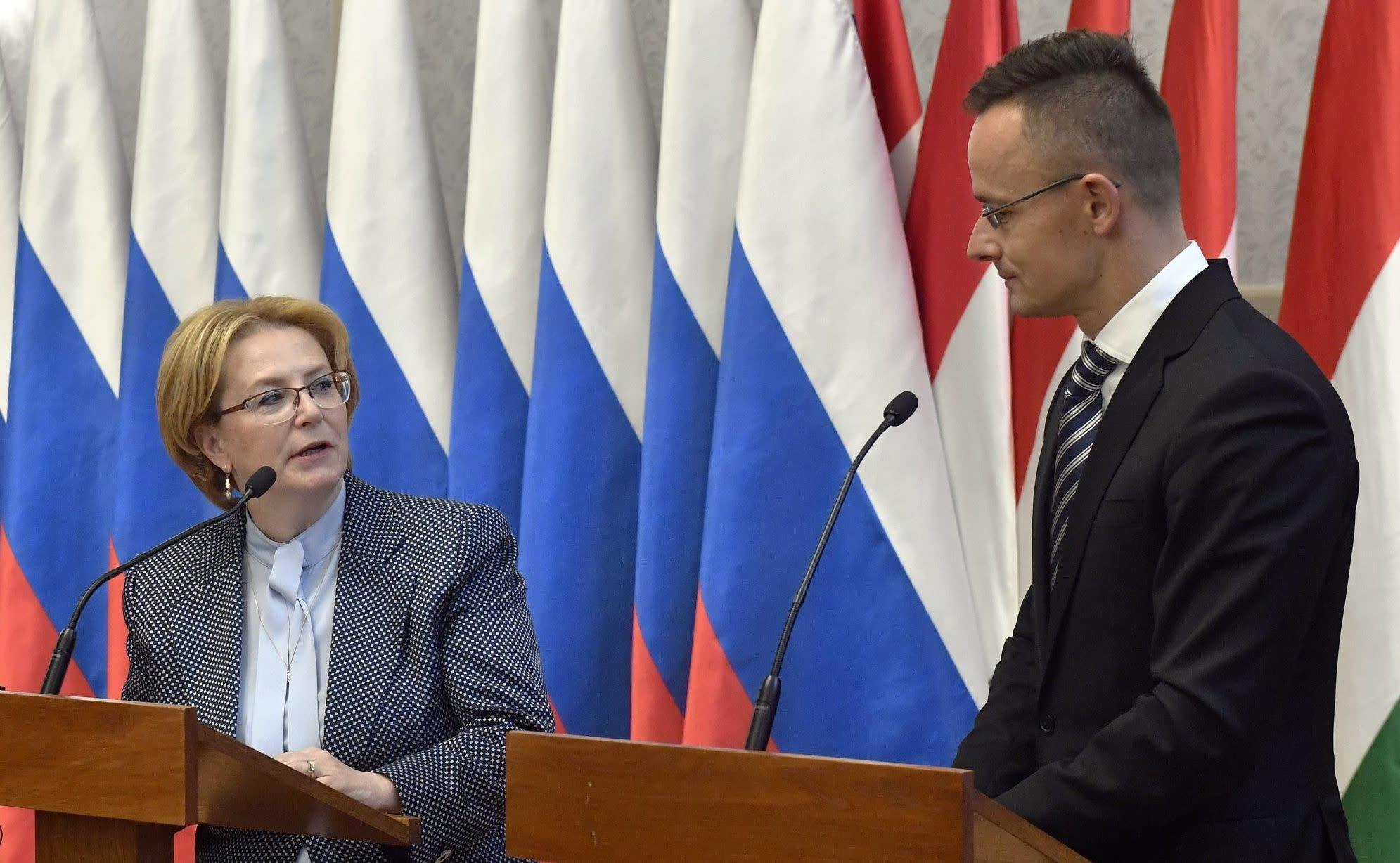 Hungarian Minister of Foreign Affairs and Trade Péter Szijjártó: