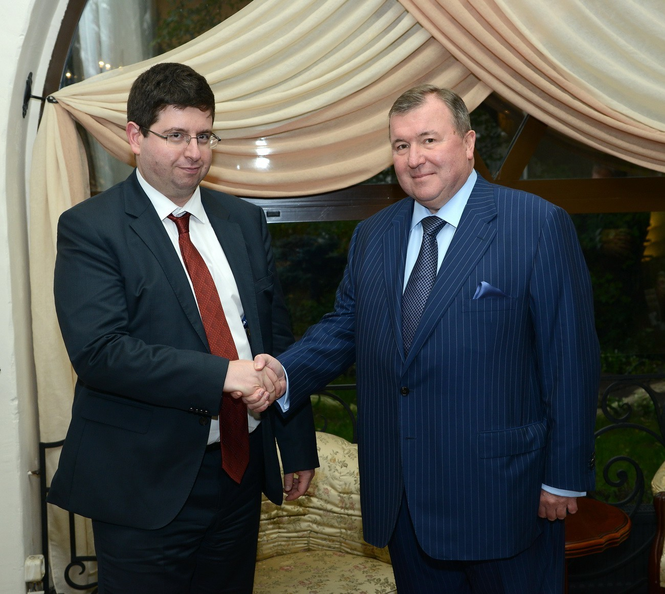 Negotiations with the Minister of Finance of the Republic of Bulgaria