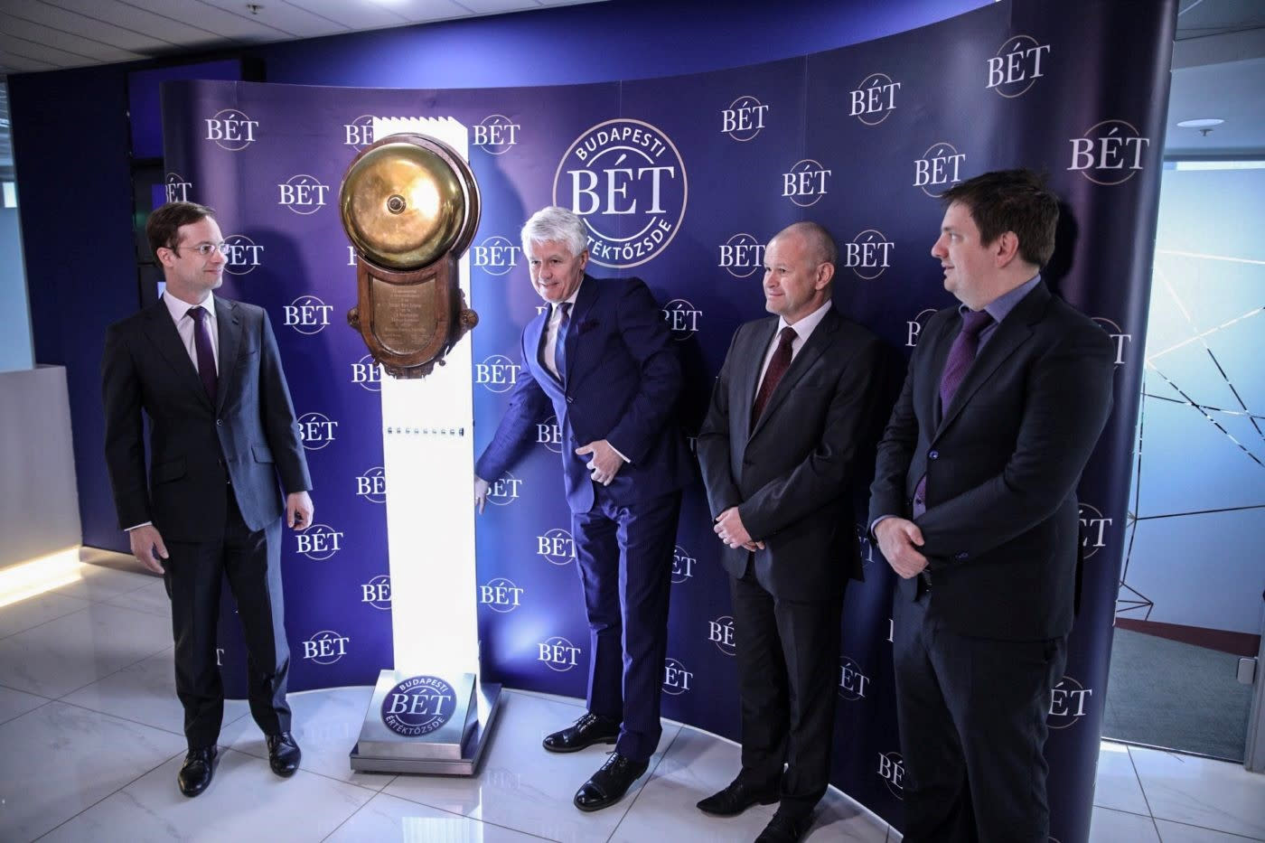 International Investment Bank listed new bonds on the Budapest Stock Exchange