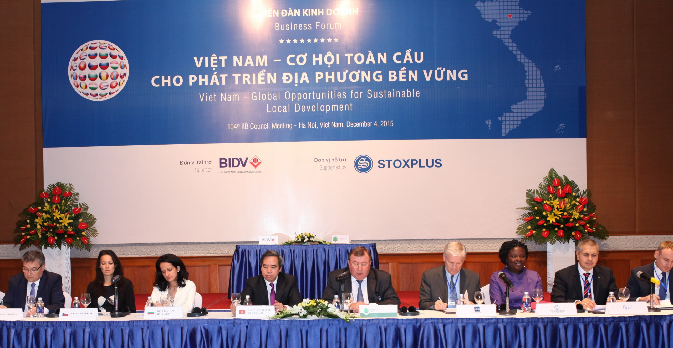 "IIB wraps up ""the Year of Asia"" – the 104th Council Meeting of the Bank in Vietnam concluded, followed by an international business forum"