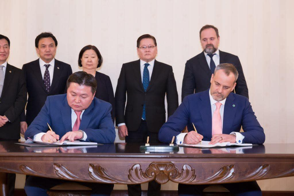 IIB boosts lending to Mongolia – an agreement is signed with the Development Bank of Mongolia at IGC meeting
