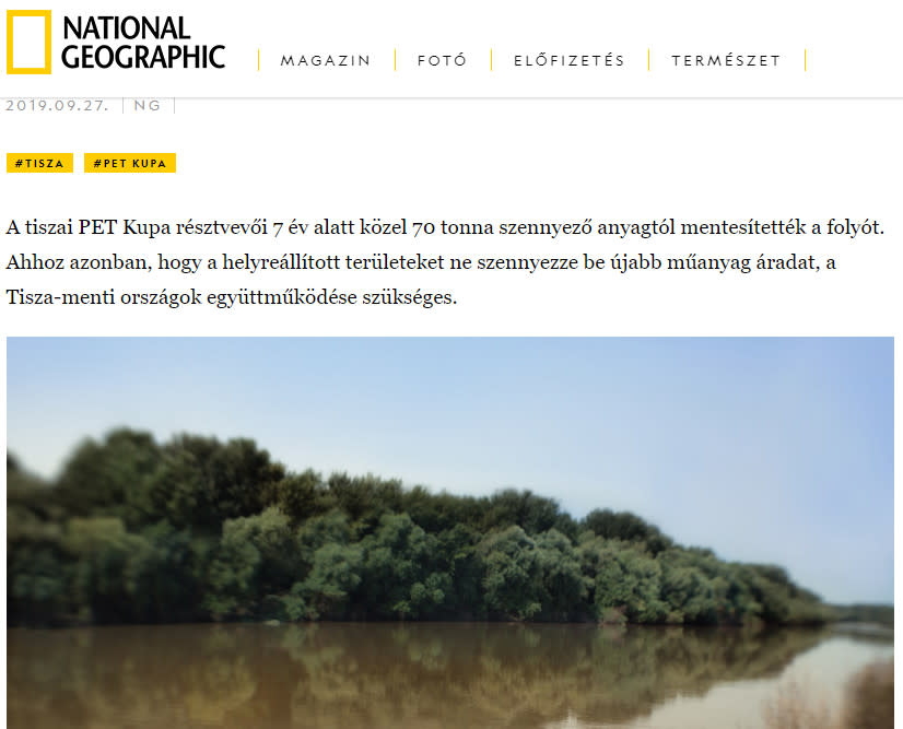 National Geographic reflects on