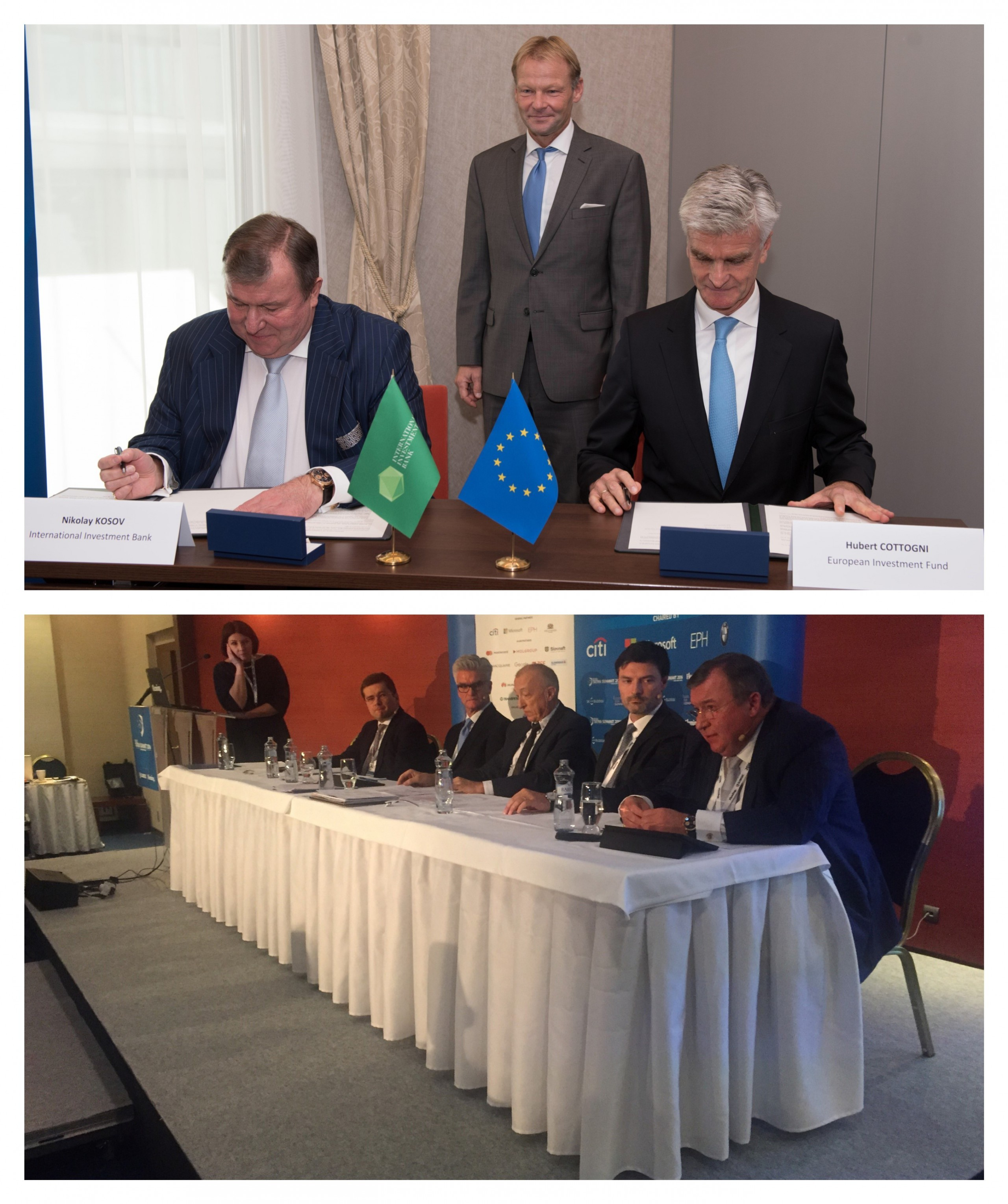 At TATRA SUMMIT, IIB Chairman presented vision of IFI support for CEE economies and signed MoU with EIF