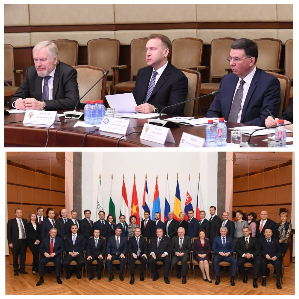 Igor Shuvalov Supports IIB's Institutional Reform and Its Plans for the New Strategic Development Cycle