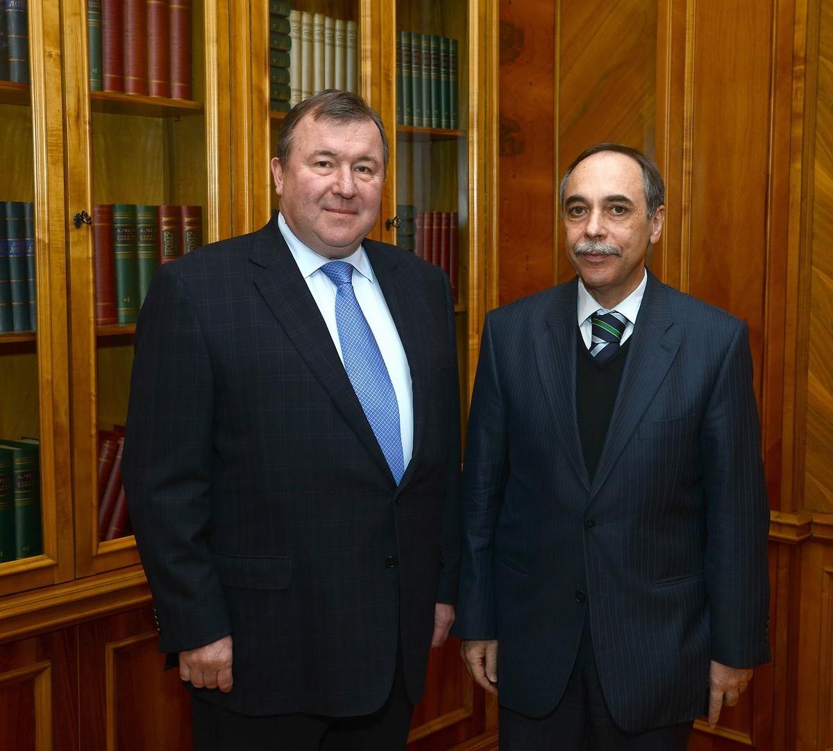 Visit of the Ambassador of the Republic of Bulgaria