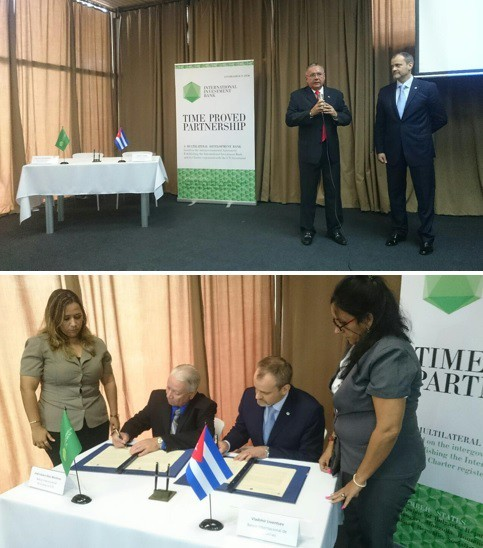 EUR 50 million in credit lines anticipated after signing of documents at IIB Day in Cuba