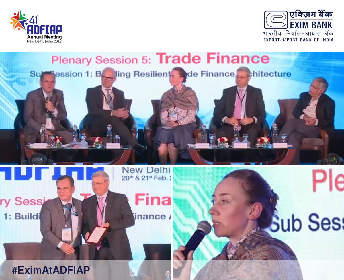 IIB showcases expert vision of current trade finance issues at 41st meeting of ADFIAP