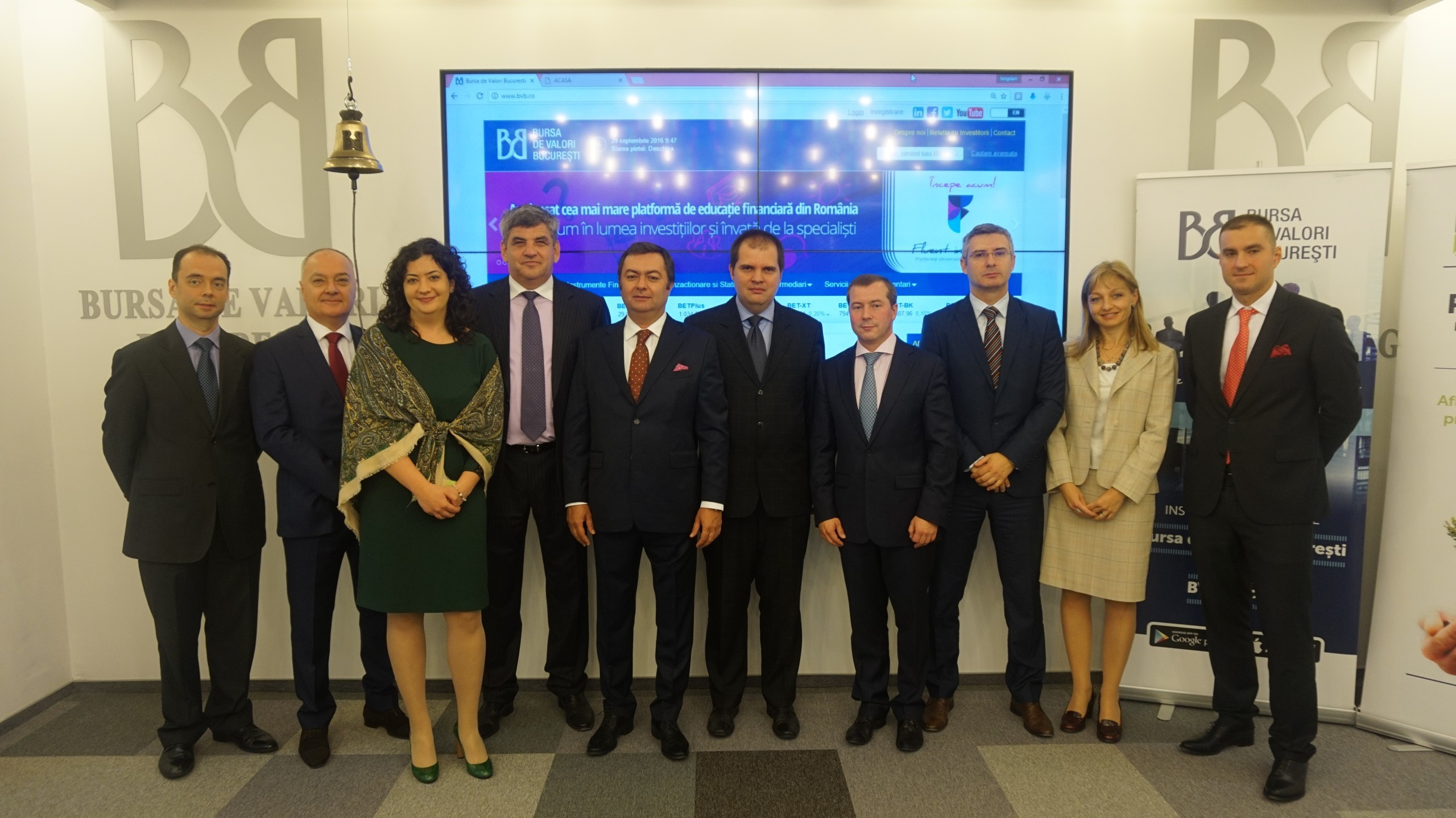 Largest IFI bond issue placed on Bucharest Stock Exchange – IIB bonds