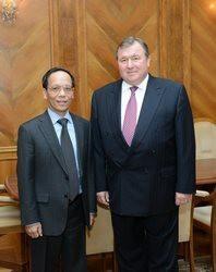 Посол Социалистической Республики Вьетнам в РФ посетил МИБ