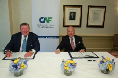 IIB signs cooperation agreement with CAF – Development Bank of Latin America
