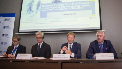 Central Europe Fund of Funds starts its activities supported by the IIB