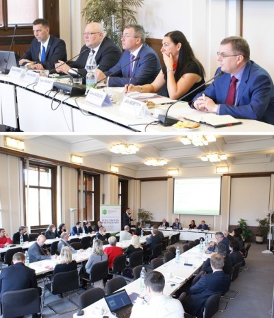 IIB gave a presentation for Czech partners and companies with the support of the Ministry of Finance of the Czech Republic