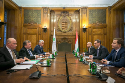 IIB and Hungary continue high-level active  dialogue