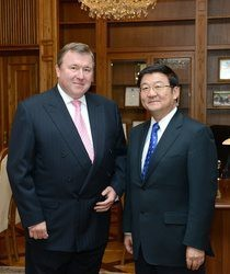 Meeting at IIB — Mongolian perspectives