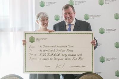 В рамках глобальной инициативы WWF МИБ предоставил грант для определения рисков, связанных с водными ресурсами Венгрии