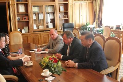 Делегация правительства Монголии в МИБ
