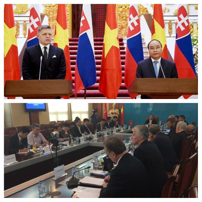 IIB presented project finance opportunities during the visit of the Slovak Prime Minister to Vietnam