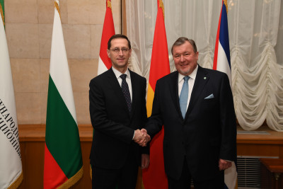 Deputy Prime Minister of Hungary Mihaly Varga paid a working visit to IIB headquarters