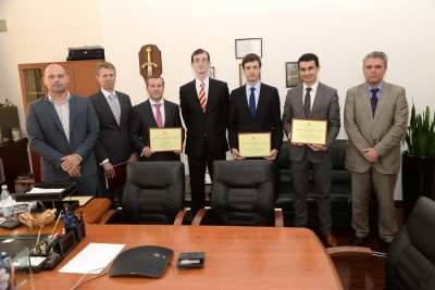 IIB's employees awarded for contribution to development of the Bulgarian economy