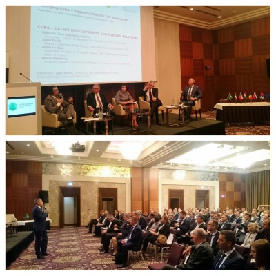 IIB presents unique opportunities for investment cooperation with Cuba at its seminar in Bratislava
