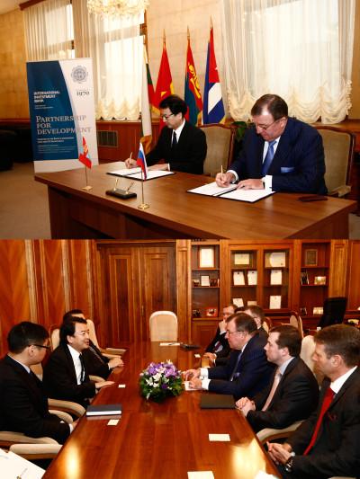 Международный инвестиционный банк развивает связи в Монголии