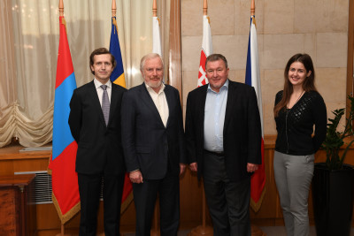A meeting between the IIB Governor from the Russian Federation Sergey Storchak and Chairman of the Management Board Nikolay Kosov