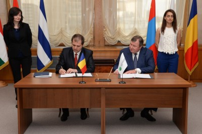 IIB's reform close to completion as Romania signs the Bank's new statutory documents