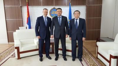 Поддержка МСП, совместные проекты и повестка деятельности МИБ обсуждалась на встречах делегации Банка в Монголии