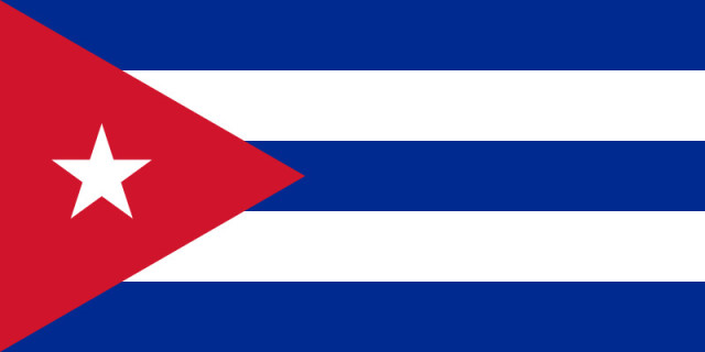 Republic of Cuba Flag