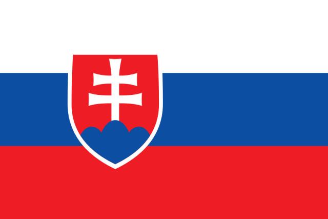 Словацкая Республика Флаг