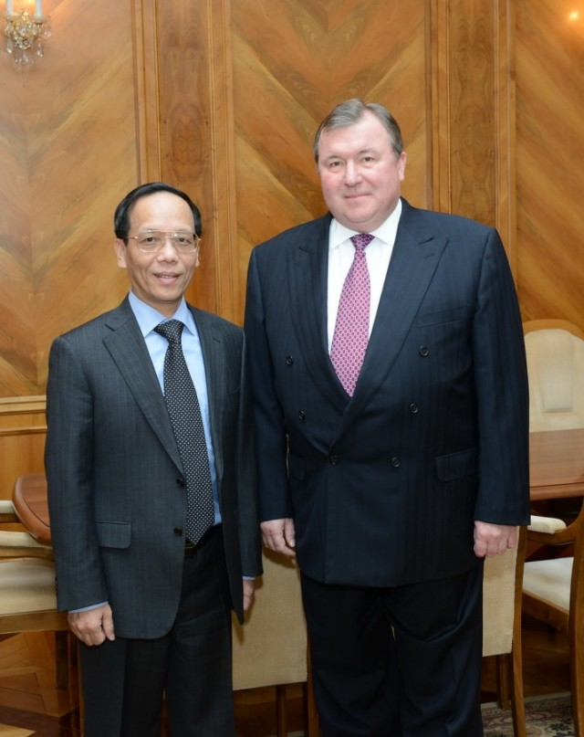 Visit of the Ambassador of the Socialist Republic of Vietnam to the Russian Federation