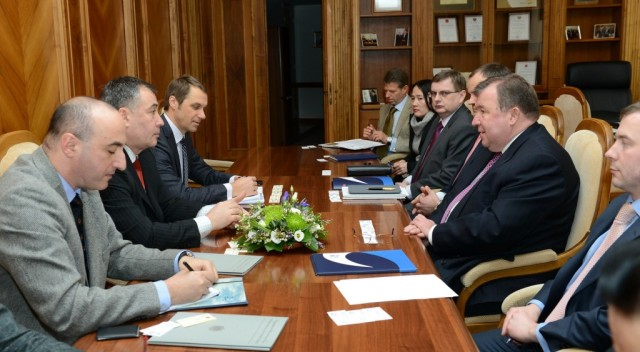 Meeting with Black Sea Trade and Development Bank (BSTDB)