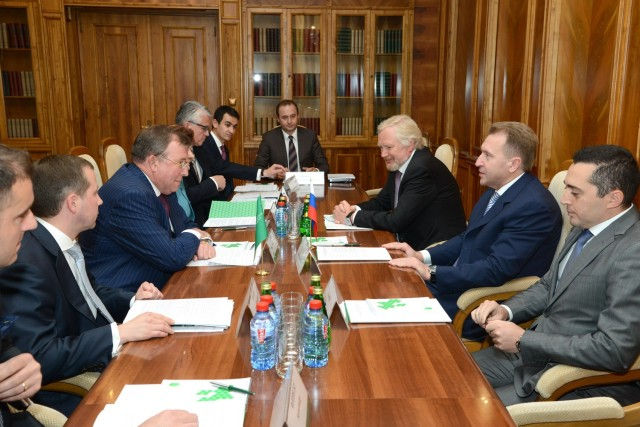 First Deputy Prime Minister of the Russian Federation I. Shuvalov visits IIB's headquarters