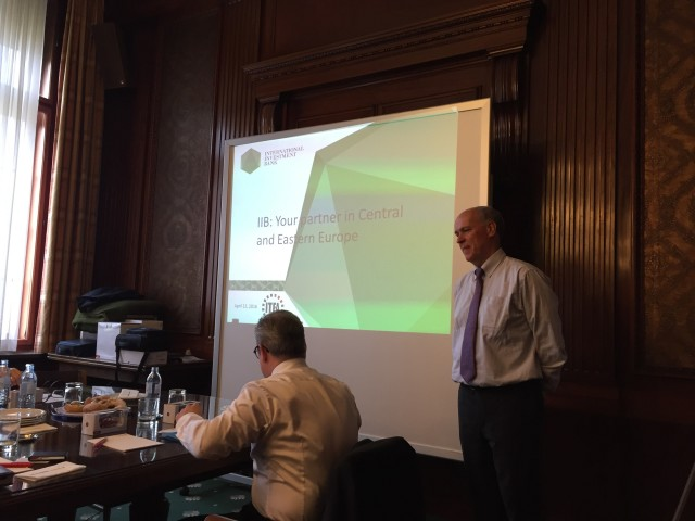 Business seminar  the International Trade and Forfaiting Association (ITFA)