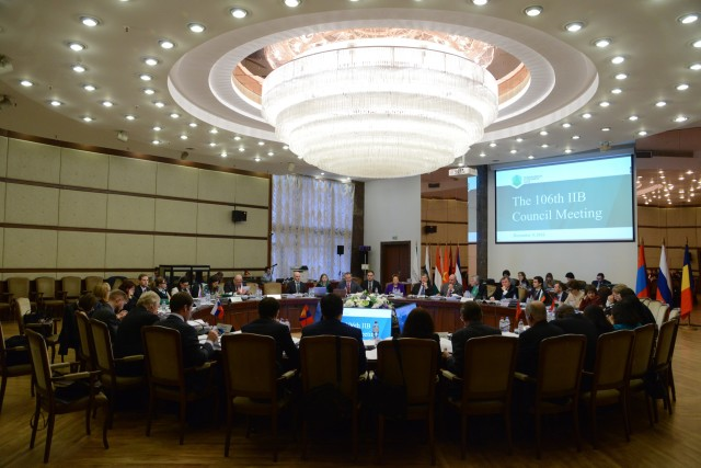 106 IIB Council Meeting 07-09.12.2016, Moscow