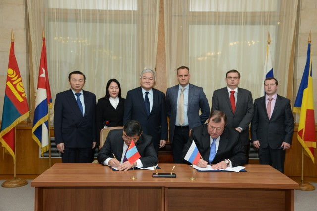 Signing of an agreement on strategic cooperation with Trade and Development Bank of Mongolia (TDB)