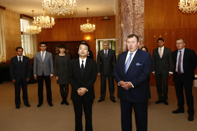 Signing of the Agreement on strategic partnership with the Mongol Khaan Bank