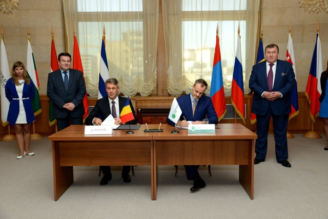 Signing of a loan agreement with Romcab