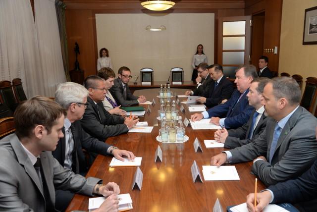 IIB and the Ministry of Economic Development signed a Memorandum of cooperation