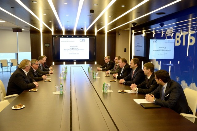 Signing an agreement on cooperation with VTB